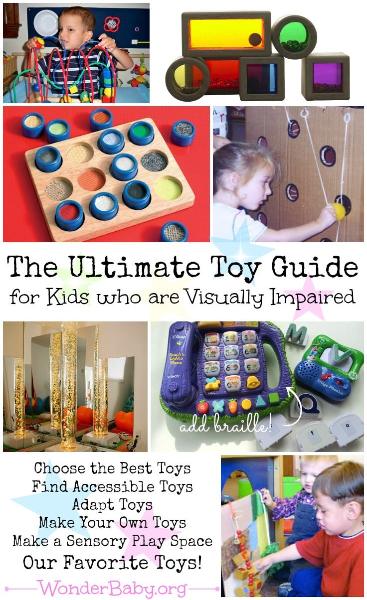 The Ultimate Toy Guide for Blind Children