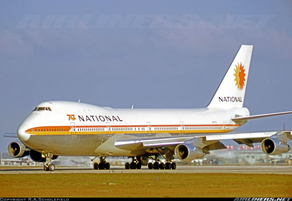 National Airlines, Boeing 747-135 (N77772) at Miami (KMIA ...