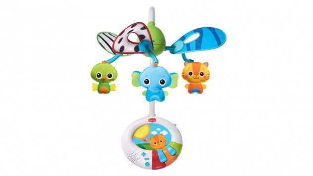 Win a hide-and-seek developmental motion mobile from Tiny Love.