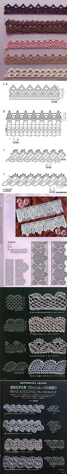 Crochet Crochet Edgings And Crochet Stitches
