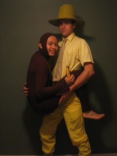 Curious George And Man In The Big Yellow Hat Couples Costume