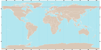 World map showing the arctic circle in red arctic circle world map showing the arctic circle in red arctic circle wikipedia the free encyclopedia gumiabroncs Image collections