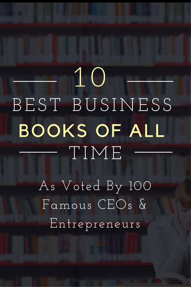Best Business Books Voted On By 100 Top Ceos Words Books
