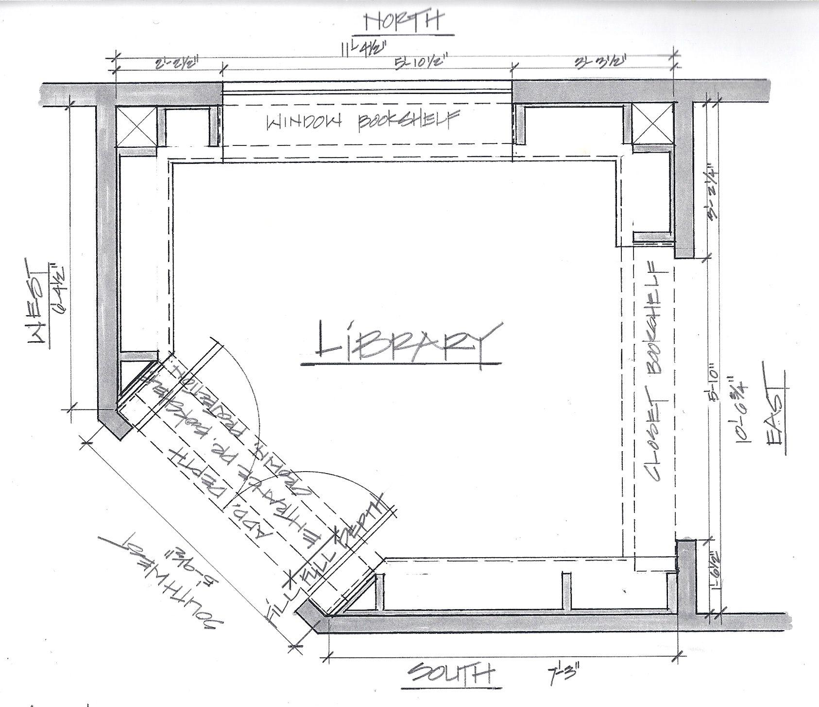 Beautiful Home Library Design Plans Gallery   Eddymerckx.us   Eddymerckx.us