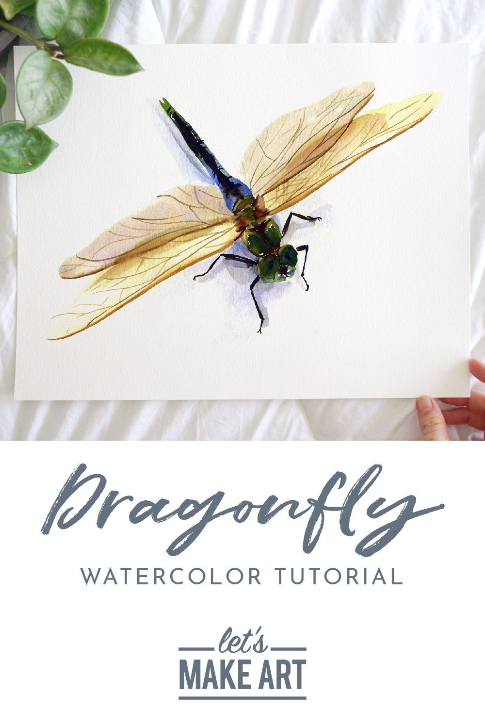 Dragonfly Watercolor Kit In 2020 Let S Make Art Watercolor Kit