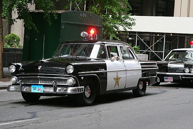 1955 ford customline for sale old police cars pinterest ford police cars and cars. Black Bedroom Furniture Sets. Home Design Ideas