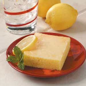 Lemon Cake Recipe  This fluffy cake is full of citrus flavor but not much fat or cholesterol. Preparation starts with a boxed mix for convenience and ends with a refreshing two-ingredient lemon glaze.  This recipe is:  Healthy