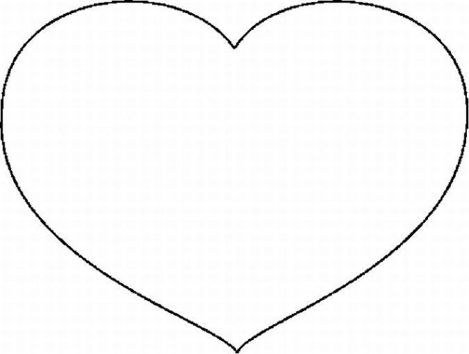 Resultado de imagen para moldes de corazones para colorear ...