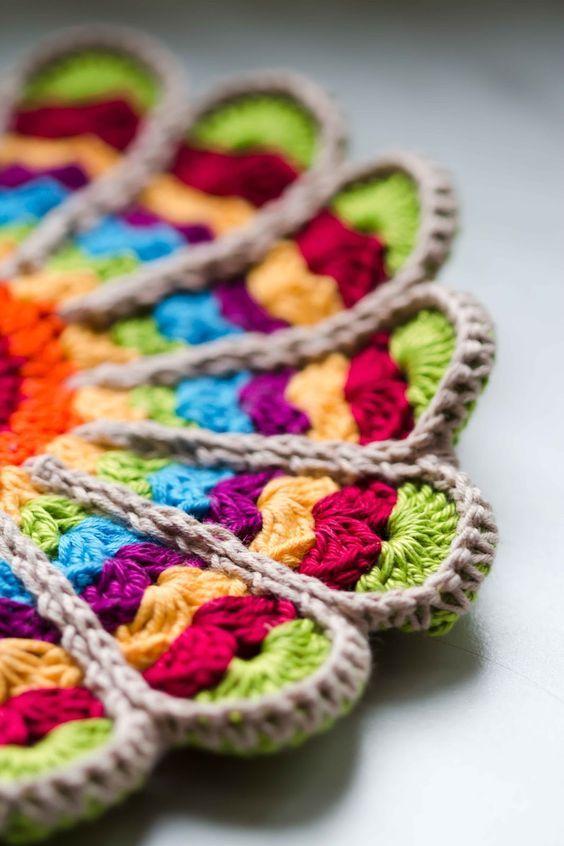 DIY} Topflappen häkeln | Häkelmuster | Pinterest | Crochet, Crochet ...