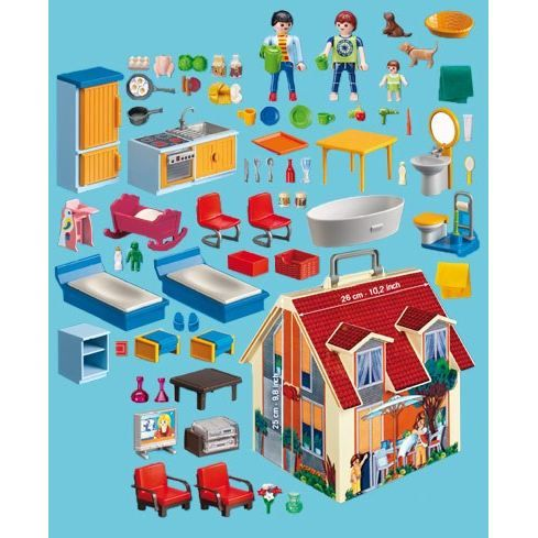 La 5167 Playmobil Maison TransportableModern Playmobil TransportableModern Maison 5167 Playmobil La QrdxEoCeBW