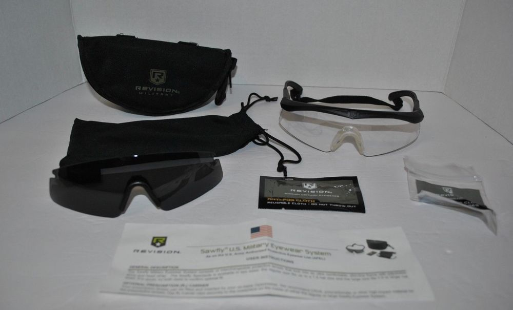 735e209bb1c Revision Sawfly Military Eyewear System Ballistic Glasses Regular Size   Revision