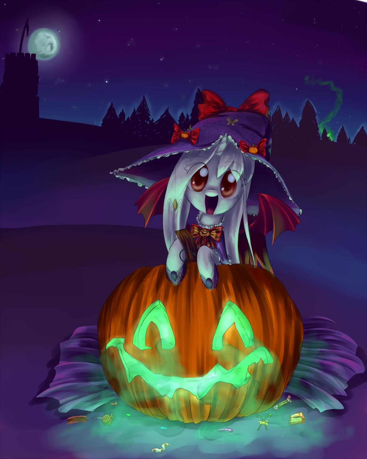 Хэллоуин картинки пони