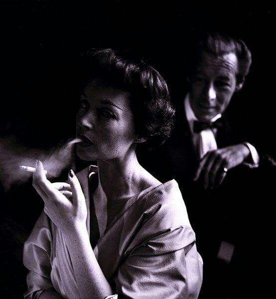 Lilli Palmer and Rex Harrison