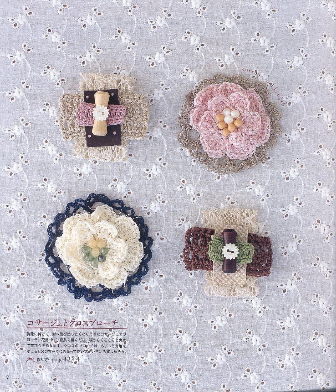Crochet small things | Crochet magazines | Pinterest | Apliques y ...