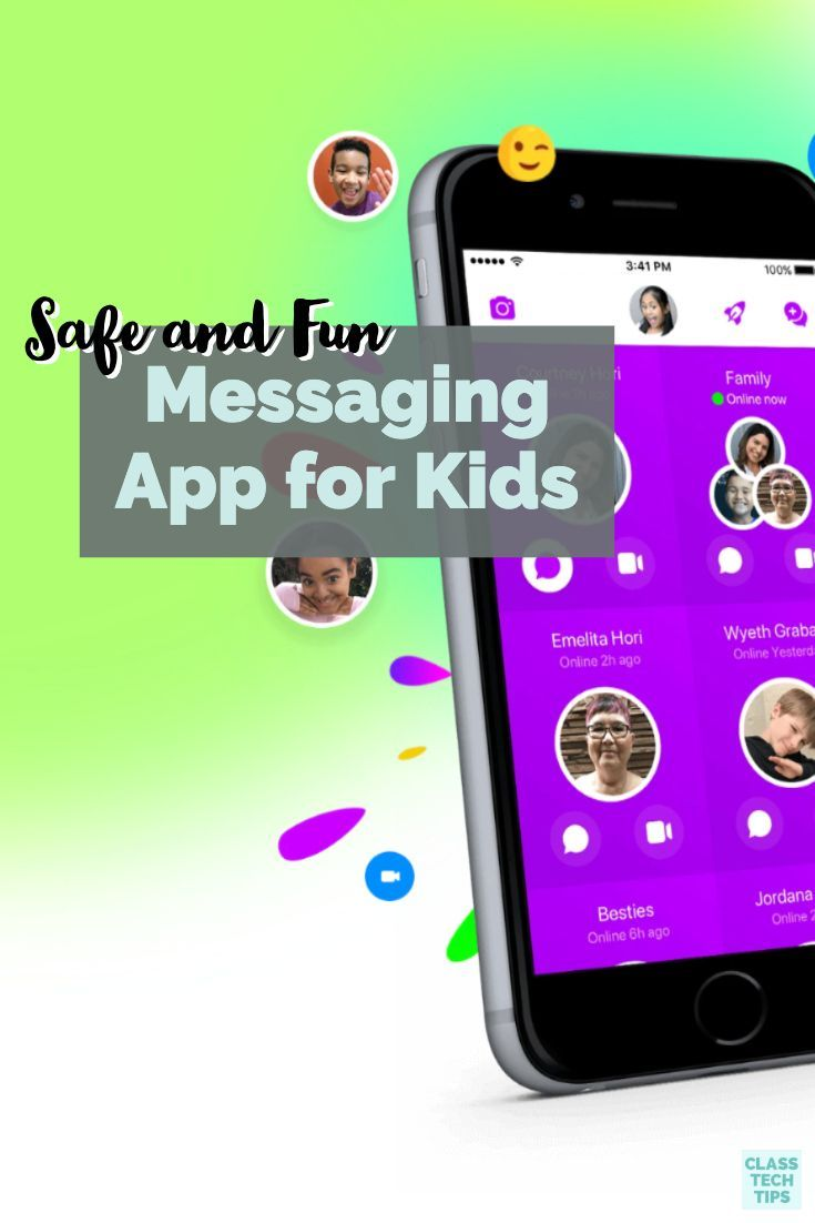 Safe and Fun Messaging App for Kids App, Messages