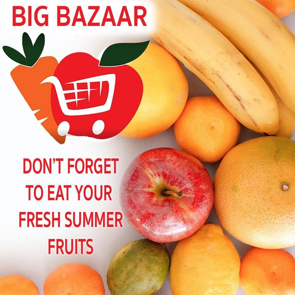 Surrey Don T Forget To Eat Your Fresh Summer Fruits With Big Bazaar Supermarket Big Bazaar Canada Surreybc Bigbazaarsuper Summer Fruit Big Bazaar Fruit