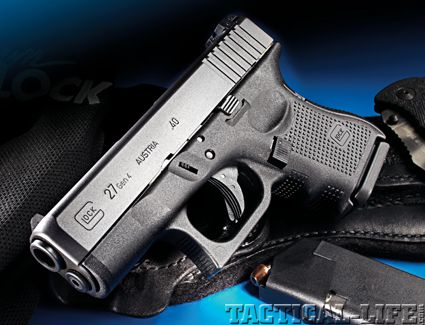 Glock 27 Gen 4   40 S - Elliot uses a Glock  I'm not sure if this is
