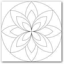 Resultado De Imagen Para Mandalas Para Dibujar Faciles Para Ninos Mandala Sencilla Como Dibujar Mandalas Mandalas