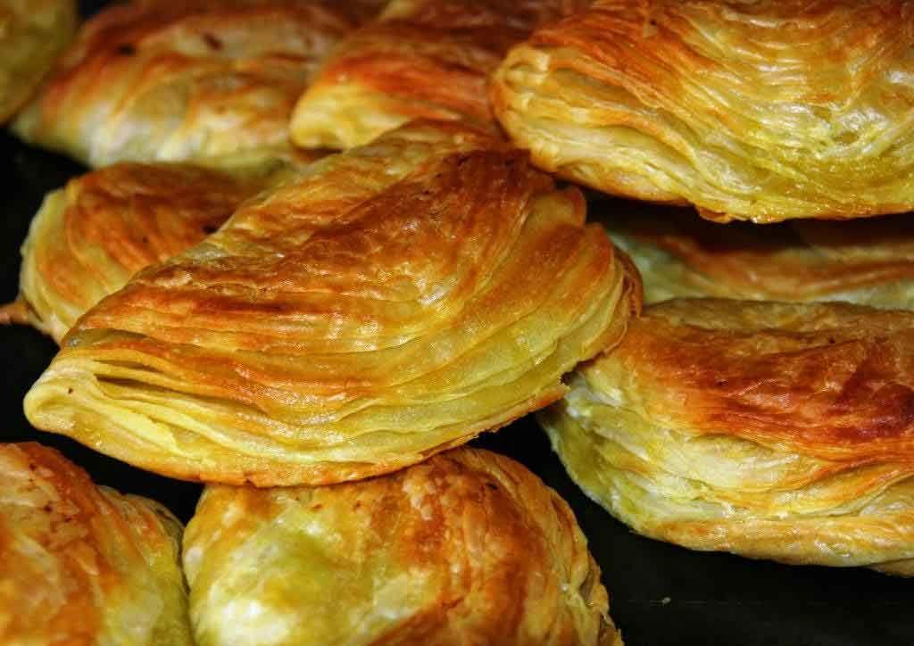 Pastéis de Chaves. Portugal
