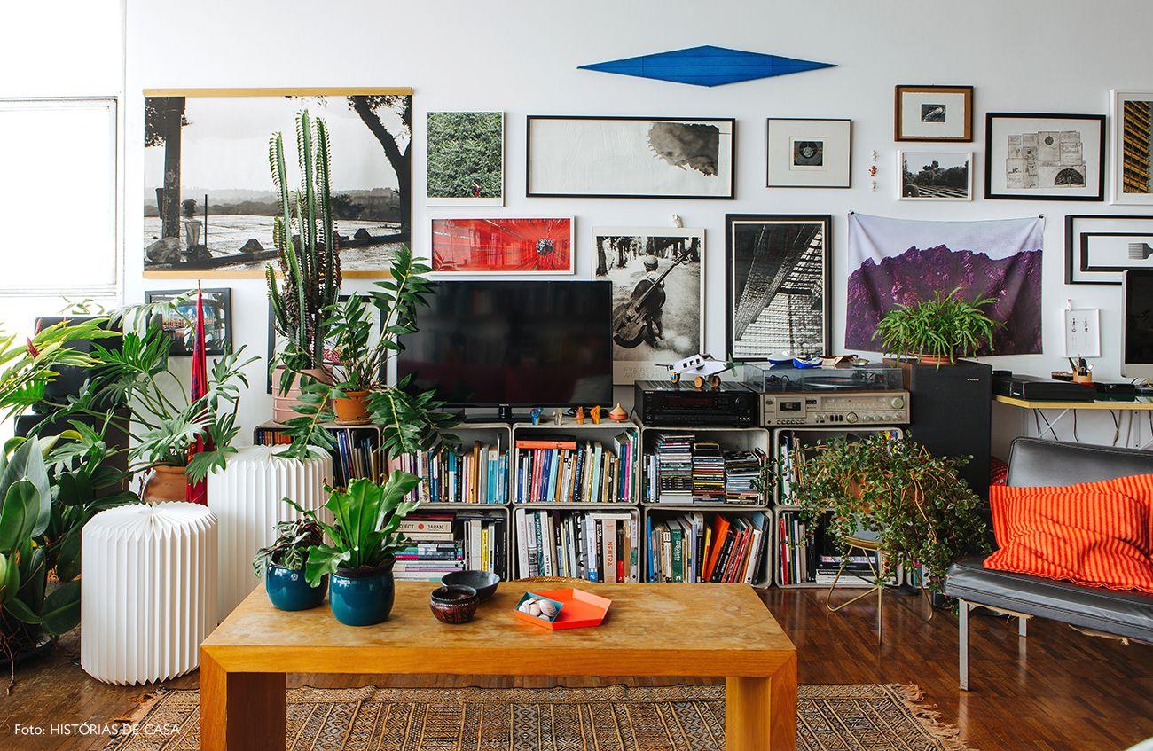 Viver Entre Amigos Empilhar Rack E Sala De Estar -> Parede Galeria Sala