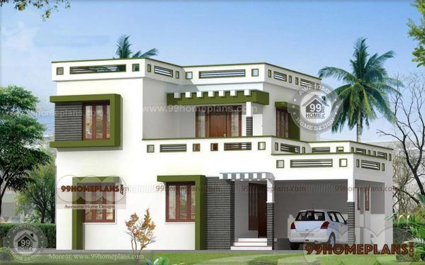 Low Cost House Plans With Estimate Latest Home Design 2 Story Type Kerala House Design Simple House Design Small House Design Kerala