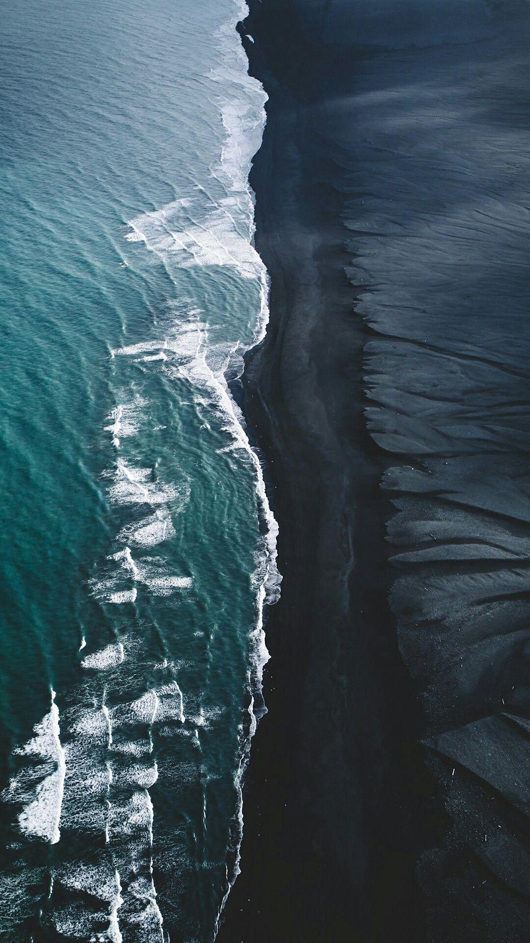 Icelandic Beach Landscape 4k HD Nature Wallpaper