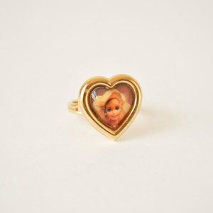 Barbie Toy Ring now featured on Fab.