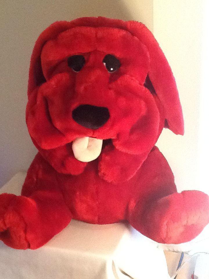 Plush Large Bulldog Stuffed Animal By Kowloon Korea Red 22 2002