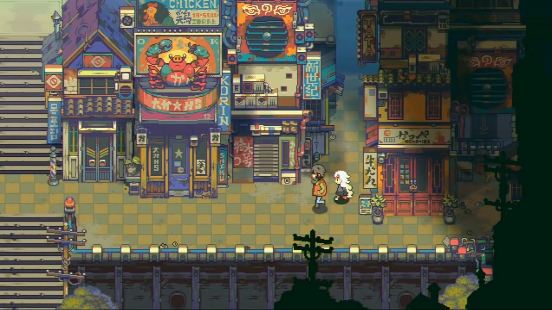 Eastward (2019 video game) (With images) Pixel art, Art