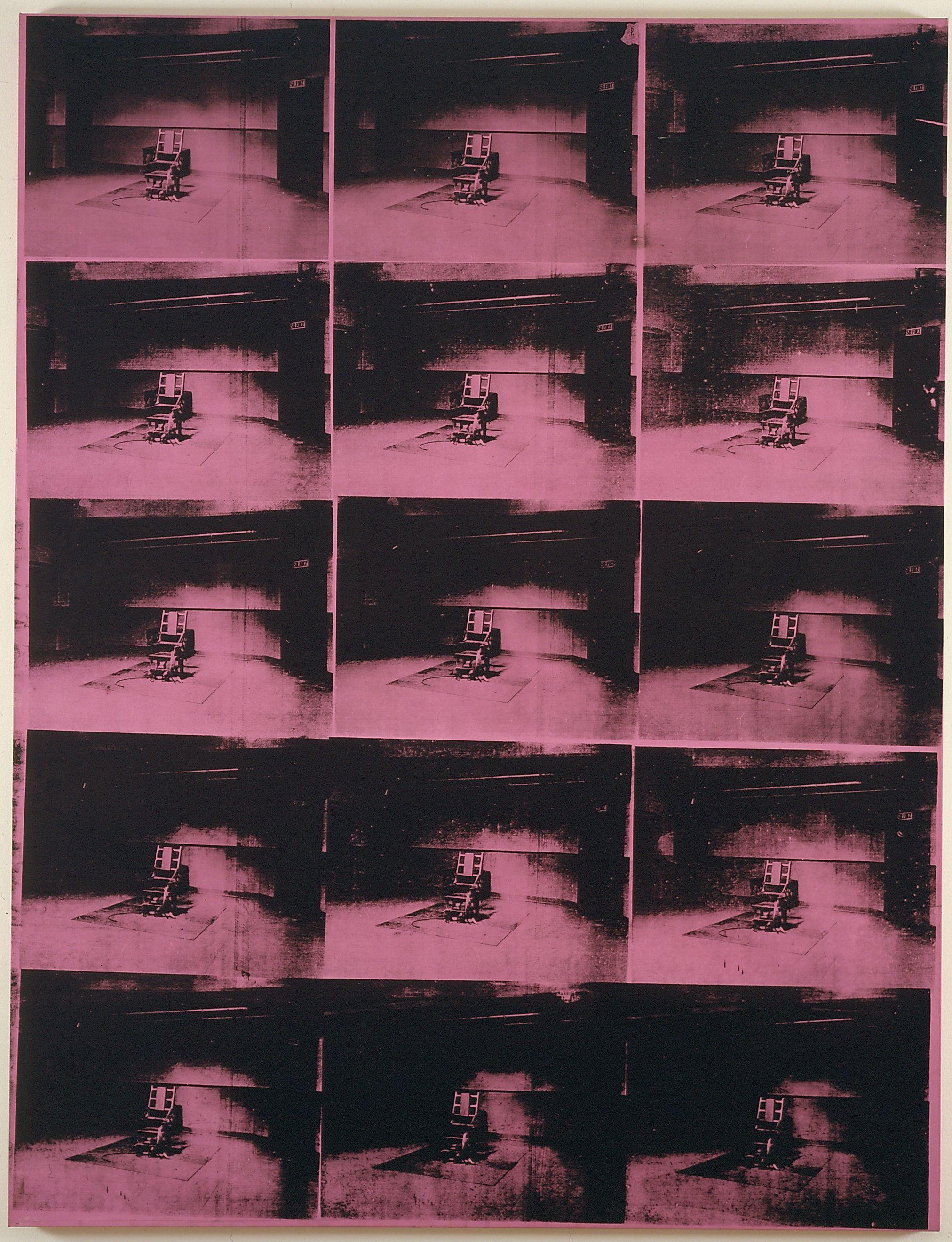 Andy Warhol, Lavender Disaster, 1963, Acrylic, silkscreen