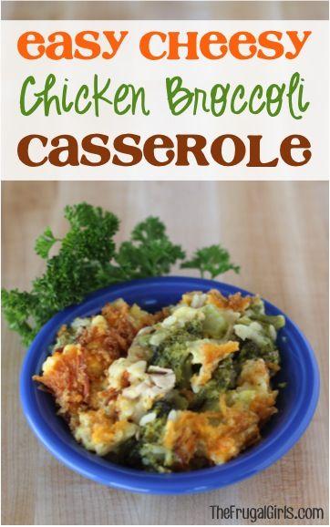 Easy Cheesy Chicken Broccoli Casserole Recipe  From -1652
