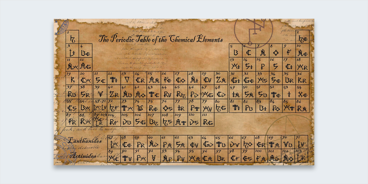 The 12 Most Influential Infographics Of All Time Dmitri Mendeleev