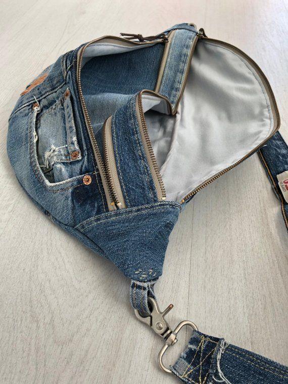 Bolso de hombro Levis Jeans convertido, bolsillo para jeans – #