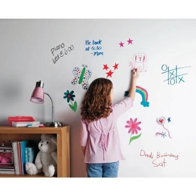 Simiron Smark 21 Oz Clear Gloss 100 Sq Ft Dry Erase Paint 40002619 The Home Depot Dry Erase Paint Whiteboard Paint Dry Erase