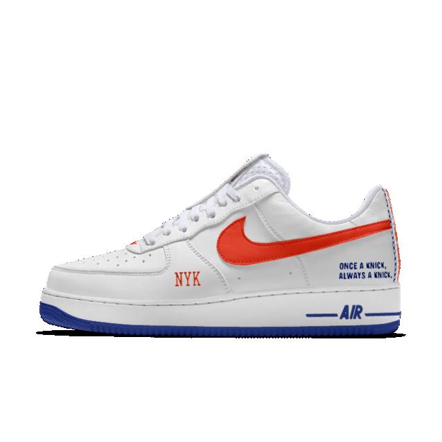 The Nike Air Force 1 Premium iD Shoe | New York Knicks
