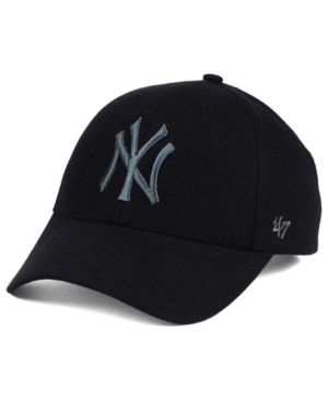 new style 83a85 eff86 canada 47 brand new york yankees mvp black and charcoal cap black  adjustable. 57b16 8ed1d