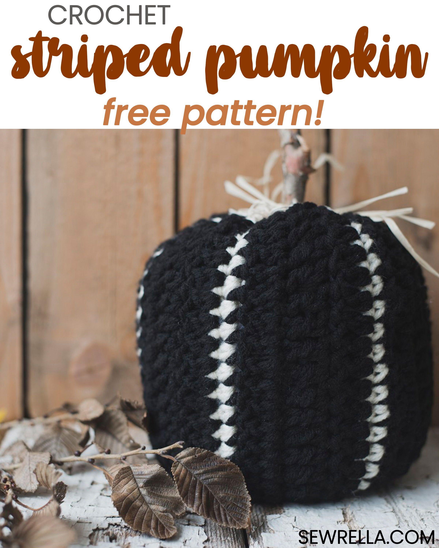 Crochet Striped Pumpkin (with Meg | CrochetHolic - HilariaFina ...