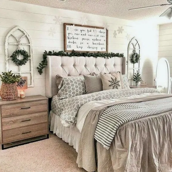 34 Gorgeous Farmhouse Master Bedroom Ideas ⋆ All About Home Decor