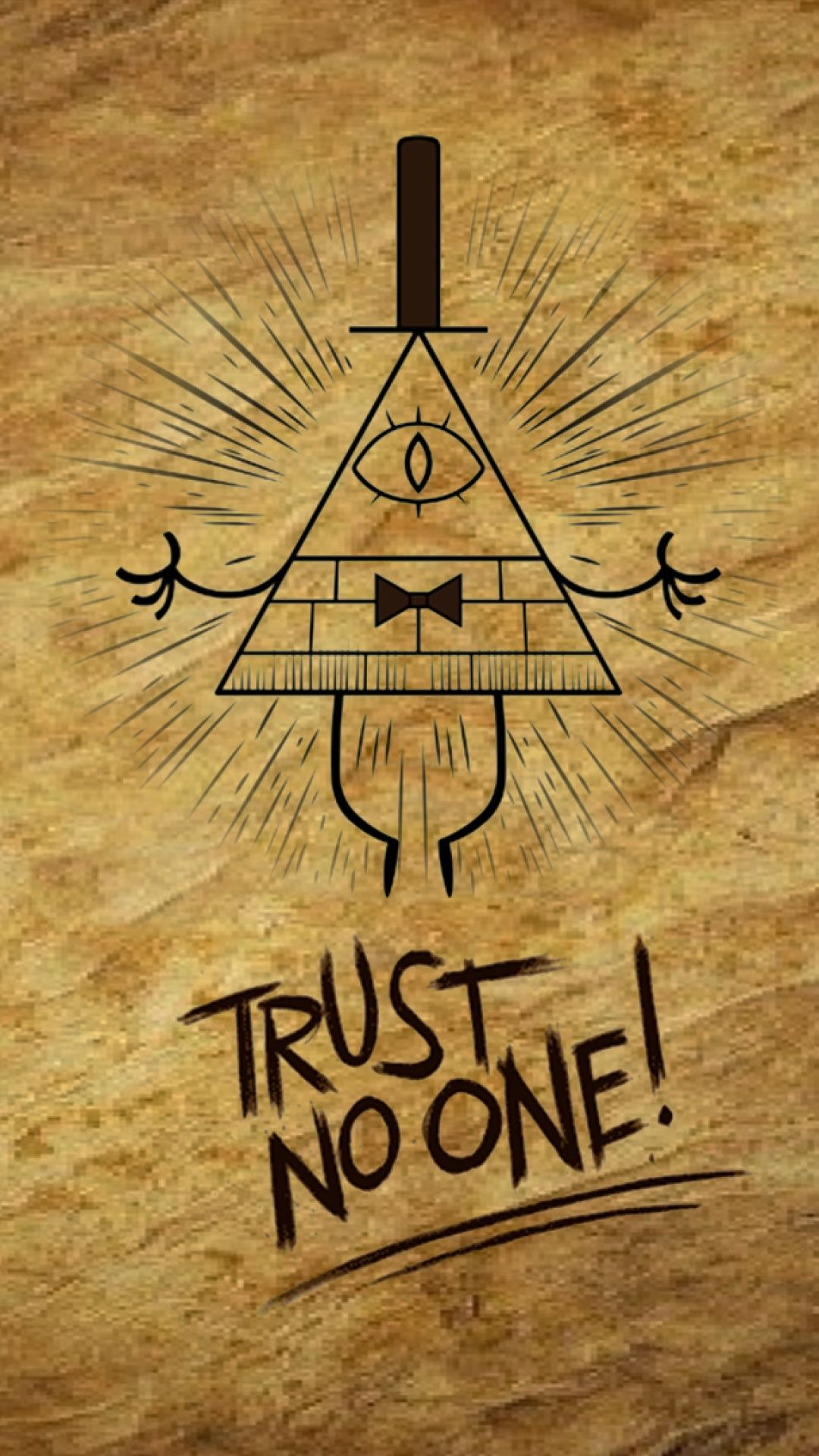 Gravity Falls Trust No One Wallpaper Gravity Falls Iphone 5 Wallpaper Id 38301 Beautiful