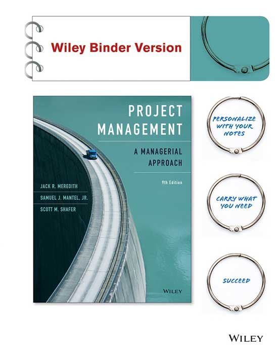 Project management a managerial approach 9th edition authors authors jack r meredith samuel j mantel jr scott m shafer isbn 9781118947029 designed for project management courses for business students fandeluxe Choice Image