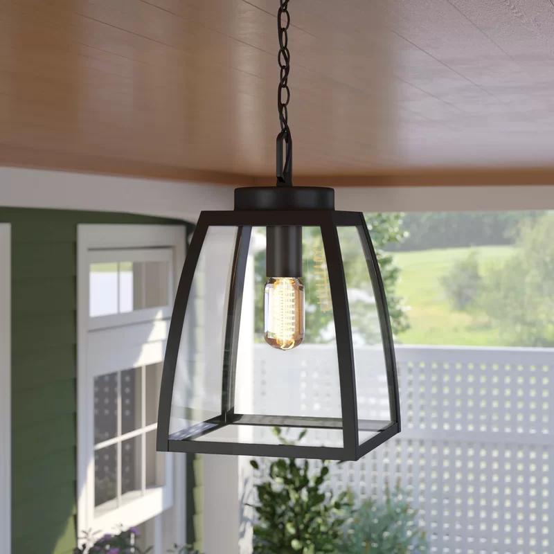 Grenada 1 Light Outdoor Hanging Lantern In 2020 Outdoor Hanging Lanterns Outdoor Hanging Lights Hanging Porch Lights