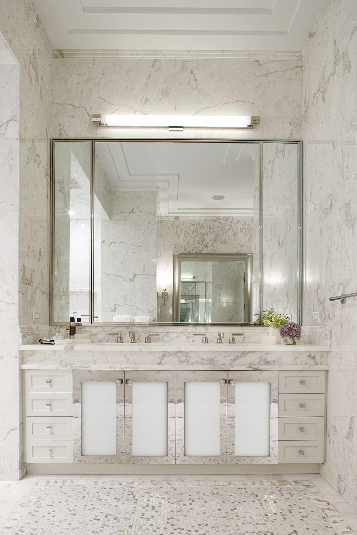 Waterworks bath in Walker Tower NYC (Henry fittings)