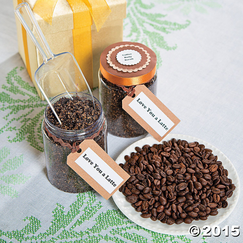 Coffee Body Scrub Recipe - OrientalTrading.com