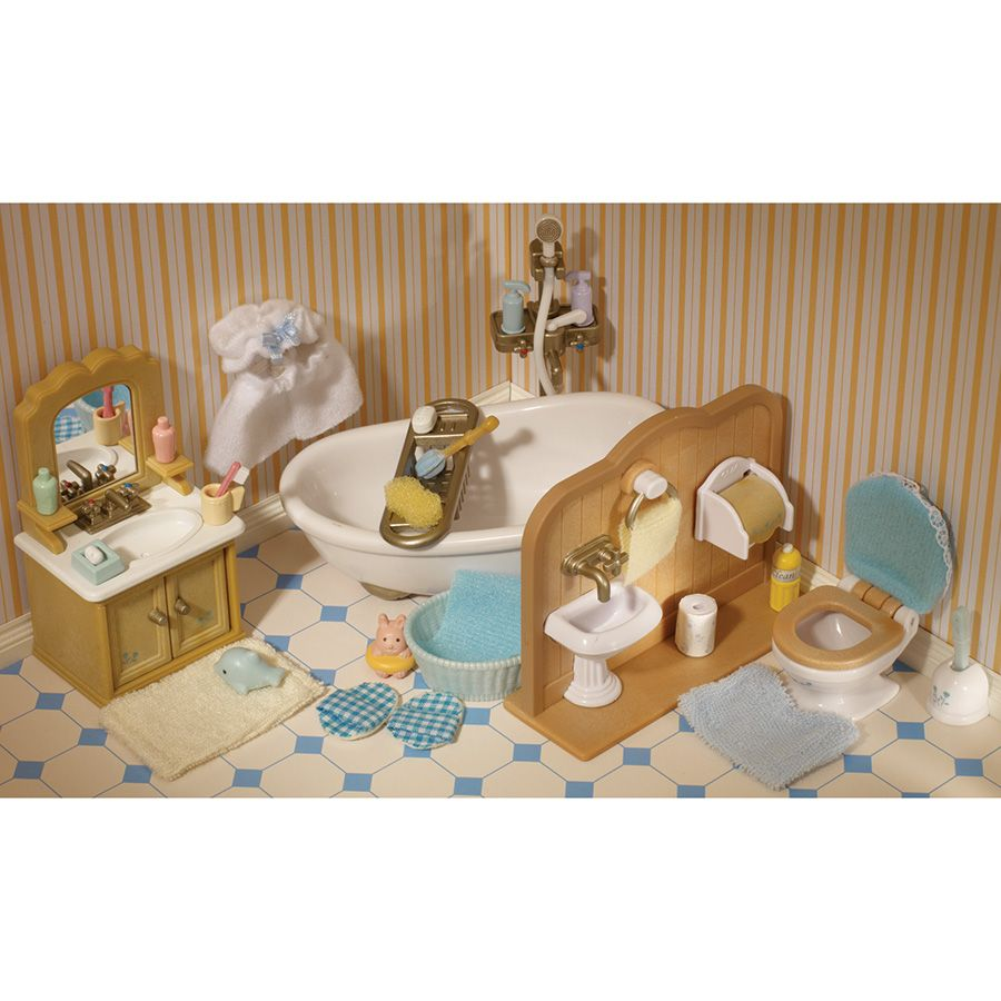 Sylvanian Families Country Bathroom Set Toys R Us Australia Sylvanian Families Country Bathroom Toy Store
