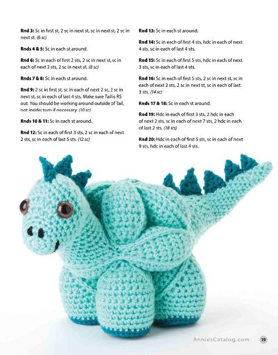 20 (547x700, 267 Kb) | amigurumis y juguetes tejidos | Pinterest ...