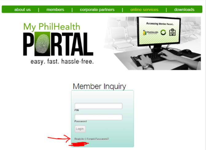 Register philhealth member access online check your philhealth guide on how to register and check philhealth account online my philhealth portal easy and hassle free print mdr online sciox Gallery