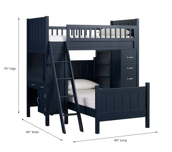 Camp Twin Bunk System & Twin Bed Set | Pinterest