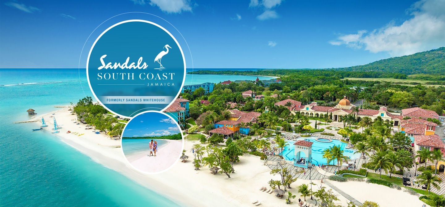 Sandals South Coast All Inclusive Resort In Whitehouse Jamaica Offers Oceanfront Rooms And Suites Natural Splendor Unsurped Service