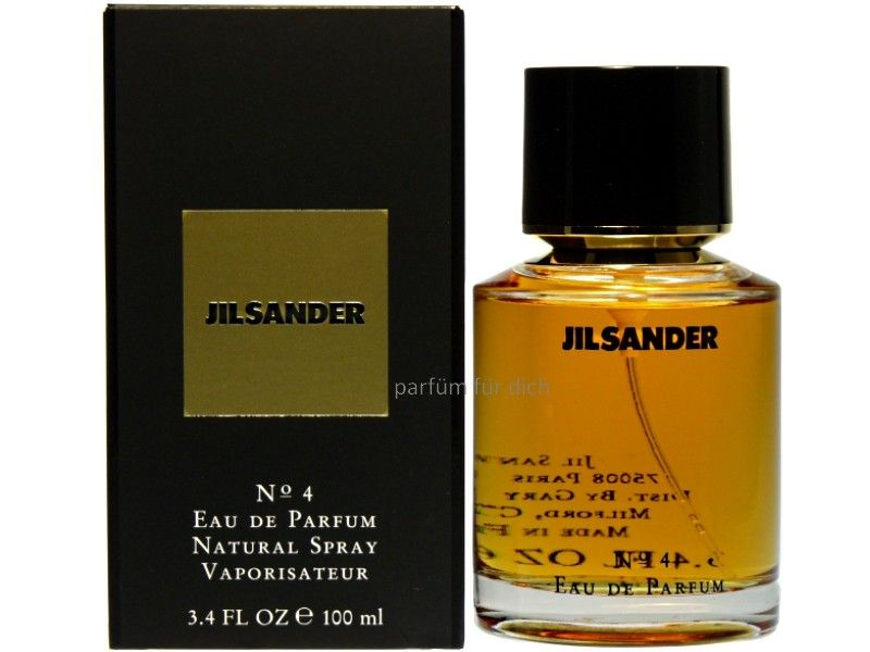 Jil Sander No 4 Eau De Parfum 100ml Jil Sander Perfume Bottles Perfume