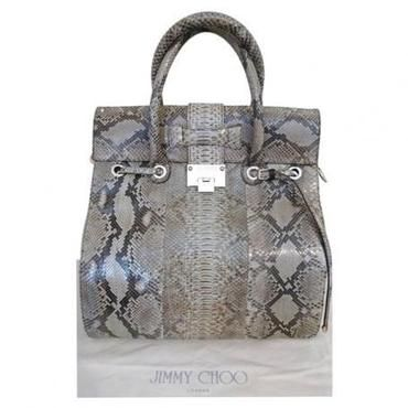 Preloved Jimmy Choo Python Rosabel Bag At Buymywardrobe